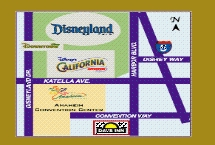 Days Inn & Suites at the Anaheim Resort Map